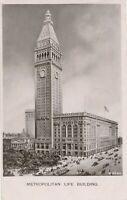 NEW YORK CITY – Metropolitan Life Building Real Photo Postcard rppc - 1908