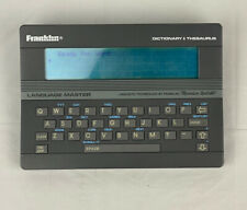 Franklin Language Master LM-2000B Electronic Dictionary / Thesaurus