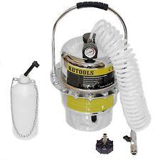 Druckluft Bremsenentlüfter Bremsenentlüftungsgerät  E20 Adapter Auffangflasche