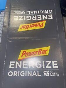 PowerBar Energize The Original' Energy Bar for Endurance, Berry 25ct 7/2022 Date