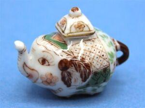 Dolls House miniature     Elephant Tea Pot 39