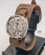 """Rare Fontainemelon FHF """"Rolex"""" WWI Military Trench Watch & Shrapnel Guard -Parts"""