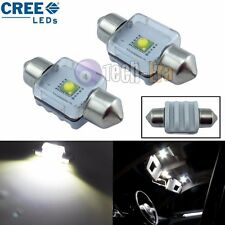 2x White High Power 5W 31mm DE3175 CREE LED Bulbs For Interior Dome / Map Lights