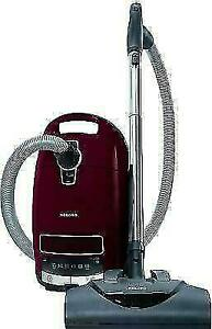 Miele Complete C3 for Soft Carpet Tayberry Red Canister Vacuum Cleaner