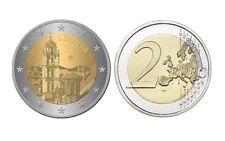 """2 Euro 2017 Lituania Lituanie Litauen 2017 """"Vilnius Città Culturale"""" Prevendita"""