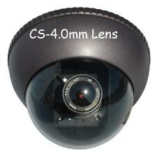 "Sunvision 480TVL Metal Outdoor CCTV Dome Camera 1/4"" Sony CCD (42L)"
