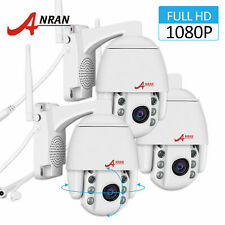 ANRAN Pan/Tilt 1080P Security Camera 4xZoom Waterproof CCTV HD IP Two-way Audio