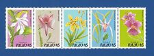 Palau (241a) 1990 Orchids Mnh strip