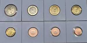 Malte Set de Monnaies Légales 1 Cent Jusqu'À (Choisissez Entre 2008 - 2020)