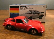 Tomica Japan Porsche Turbo- No. F1- 1/61- Foreign Series Germany