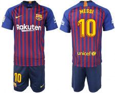 Men's Barcelona Fc #10 Lionel Messi Jersey Shorts Home Soccer Size 20 Nike