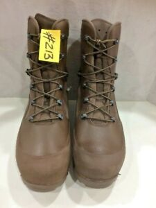 HAIX Combat High Liability Boots Male Brown 12m  EX ARMY #213