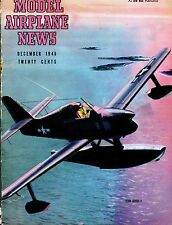 Model Airplane News Magazine December 1946 EDO XOSE-1 GD 041417nonjhe