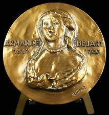 Médaille Meudon demeure d'Armande Béjart actrice &  épouse de Molière 1970 Medal