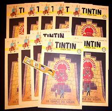 Lot Journaux Journal TINTIN n°1 Temple Soleil (Fac simile de 1946 du numéro un)