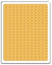 Sizzix Field of Diamonds Plus Embossing folder #660580 MSRP $12.99 by R. Bright