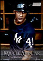 Miguel Andujar 2019 Topps Stadium Club 5x7 #123 /49 Yankees