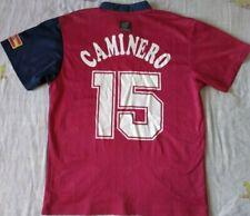 Camiseta Trikot Shirt ESPAÑA Spain Adidas 15 CAMINERO Season 1998 Size M Vintage