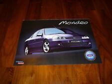 Ford Mondeo folleto España