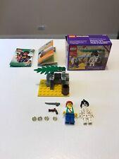 Lego Pirate System Skeleton Crew With Box 6232 1996 90s Lego Pirates