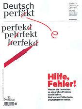 Deutsch perfekt, Heft November 11/2016: Hilfe, Fehler!  +++ wie neu +++