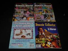 BEANIE BABIES MAGAZINE LOT OF 4 - INCLUDES 3 NUMBER 1 ISSUES - O 9925