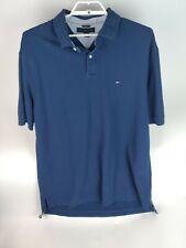 Mens TOMMY HILFIGER Navy Blue polo shirt XXL TTG/XXG