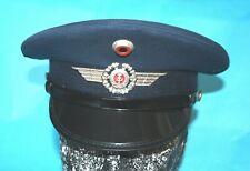 More details for german military visor cap with air force badge and bullseye (c).