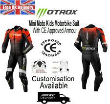 Motrox Kinder & Erwachsene Motorrad Mini Moto Lederkombi Mit Ce Armors