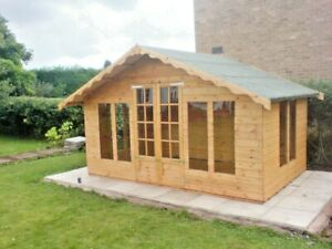 15ftx8ft Contemporary Cabin Summerhouse