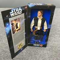 Vintage 90s Star Wars Collector Series Han Solo Kenner Doll Figure 1996 In Box