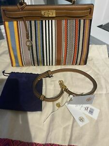 tory burch lee radziwill bag authentic with original price label