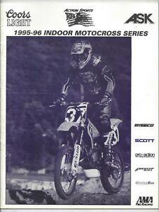 Action Sports Indoor Motocross Series 1995 Program Ohio Columbus