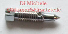 40 TIN Zenith Umluftschraube ByPass Schraube, Porsche 911 T, Recirculating screw