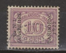 Nederlands Indie Indonesie 156 used Netherlands Indies JAARBEURS BANDOENG 1922