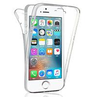 Coque Silicone Gel ultra mince 360° Avant et Arrière pour Apple iPhone 5/ 5S/ SE