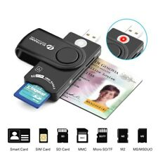 Usb Lettore di schede Smart Eletrand DOD Military Common Access CAC Card Reader