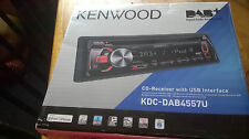 KENWOOD KDC-DAB4557U AUTO STEREO CD-receptor con Usb Hecho Para Ipod Iphone