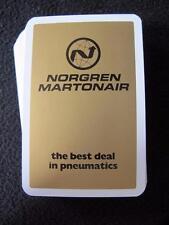 PACK of ADVERTISING PLAYING CARDS - NORGREN MARTONAIR - PNEUMATICS