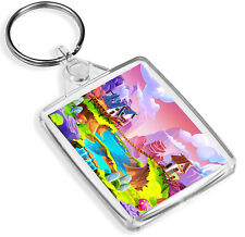 Colourful Magic Realm Keyring - IP02 - Cute World Fairy Fun Girls Gift #16884