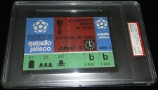 JUNE 3RD 1970 WORLD CUP BRAZIL VS CZECH PELE 9TH WC GOAL MATCH FULL TICKET PSA