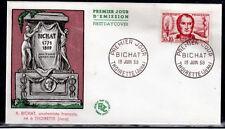FRANCE FDC - 305 1211 3 XAVIER BICHAT 13 6 1959 MEDECIN ANATOMISTE
