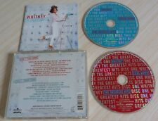 2 CD ALBUM THE GREATEST HITS - HOUSTON WHITNEY 35 TITRES 2000