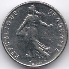 France : 1/2 Franc 1976