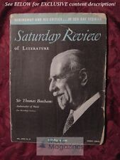 Saturday Review October 28 1950 THOMAS BEECHAM ERNEST HEMINGWAY GILBERT SELDES