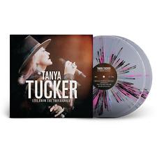 Tanya Tucker Live From Troubadour Exclusive Pink Black Blue Splatter 2x Vinyl LP