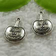Free Ship 100 pieces tibet silver pumpkin charms 20x15mm #1151