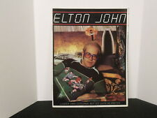 "Elton John ""Louder Than a Concorde But Not Quite as Pretty"" Tour Concert Program"