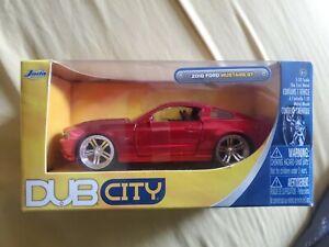 Bigtime Muscle 2010 Red Ford Mustang GT 1:32 Die Cast Metal Car NIB