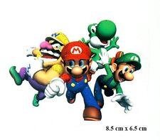 Life Style Iron-on Sticker (6.5 x 8.5cm) is0136 Super Mario Bros. Luigi YOSHI